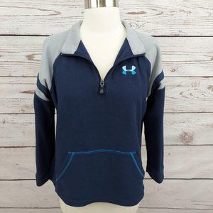 5/$25 Under Armour Fleece Quarter Zip Pullover L